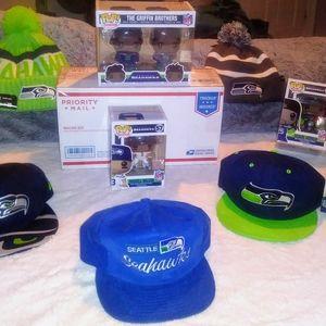 Seahawks Funko Pop! Lot Bundle (8-Pack)